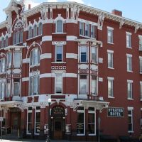 Historic 1887 Strater Hotel, Durango, Colorado, USA, Дуранго
