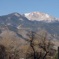 View of Pikes Peak, Колорадо-Спрингс