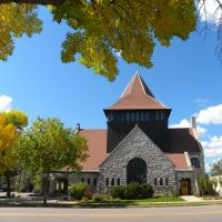 First Congregational Church - N Tejon St - Colorado Springs CO, Колорадо-Спрингс