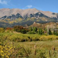 Fall in  the Great Dikes of the Spanish Peaks, Лас-Анимас