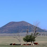 Capulin Volcano, New Mexico, Лас-Анимас
