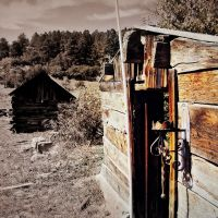 abandoned in the foothills of the Spanish Peaks, Лас-Анимас