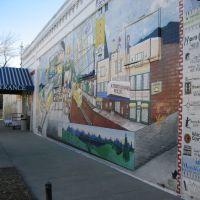 long mural on hardware store  2010, Лейксайд