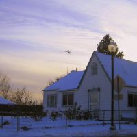 winter evening in Wheat Ridge, Лейксайд