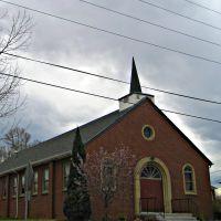 Presbyterian church -- early spring, Лейксайд