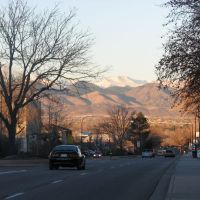 Looking West down Littleton Boulevard, Dec 07., Литтлетон