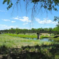 bridge, Mary Carter Greenway Trail, Littleton, Colorado, Литтлетон