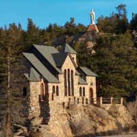 Chapel on the Rock, St. Malo, Mt. Meeker Park, Colorado, Нанн