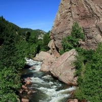 Eldorado Canyon State Park, Colorado, USA, Нанн