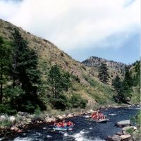 Rafting in Cache La Poudre River, near Grey Rock trail, Нанн