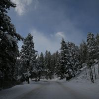 On the road up to Bear Lake, Нанн