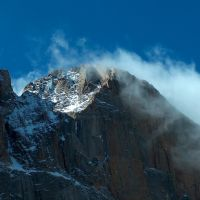Diamond on Longs Peak, Rocky Mountain National Park, Colorado, Нанн