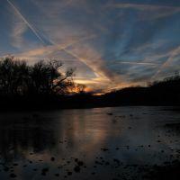 Sunset on the Arkansas River, Пуэбло