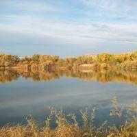 Runyon  Lake in Fall, Пуэбло
