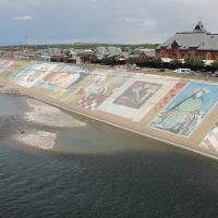 Part of the longest Mural in the World, Пуэбло