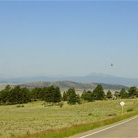Headed west into South Park from Wilkerson Pass, Свинк