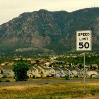 Útközben a Yellowstonepark és Colorado Springs között.  / Yellowstonepark and Colorado between Springs on the way.  59, Форт-Карсон