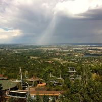 View from the Cheyenne Mountain Zoo, Форт-Карсон