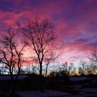 Westminster, CO - Sunrise over the neighbourhood, Шеррелвуд