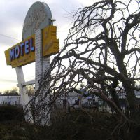 Western Hills Motel on US 40 before interstates, Эджуотер