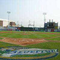 Bridgeport Bluefish - Ballpark at Harbor Yard, Бриджпорт