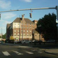 a building, Бриджпорт