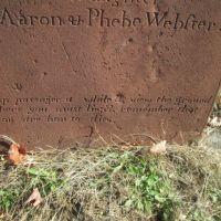 Puritan gravestone, Бристоль