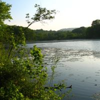 View from N end of Highland Pond - May 14 2010, Вестпорт