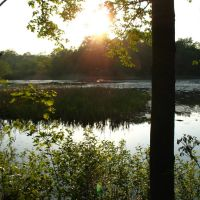 View from E side of Highland Pond - May 14 2010, Вестпорт