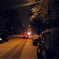night snow, Данбури