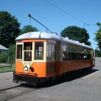 Johnstown 357, Shore line Trolley museum, New Haven, CT (07-2010), Ист-Хавен