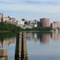 Hartford Skyline From Charter Oak Lan, Ист-Хартфорд