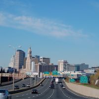 Hartford, CT. Skyline, Ист-Хартфорд