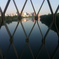 Hartford from the Charter Oak Bridge, Ист-Хартфорд