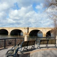 Bulkeley Bridge, East Hartford, Ист-Хартфорд