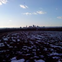 Hartford skyline, as seen from the dump, Ист-Хартфорд