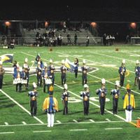 Platt High School Band at Falcon Field, October, 2008, Мериден