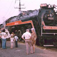 American Freedom Train  summer 1976, Милфорд