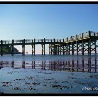 Pier at Gulf Beach, Милфорд