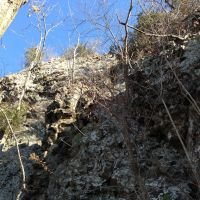 Views from Below Talcott Mountain Cliffs, 11222012, Фармингтон