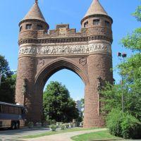 Memorial arch, Хартфорд