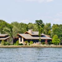 House on Squirrel Point (Cross Lake) - July 2, 2011, Бланчард