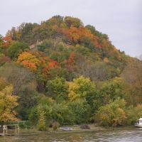 Pike County Bluff, Mississippi River, October 2009, Богалуса