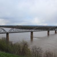 Louisiana, MO Bridge, Боссир-Сити