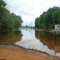 Rocky Branch Rd flooded, Джексон