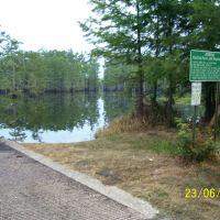 Boat ramp, Cheniere Lake, West Monroe, LA, Джексон