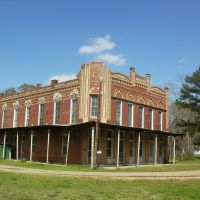 Historic LeSage Hotel, Collfax, Grant Parish, Louisiana, Джексон