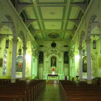 Inside St. Charles Borromeo Church in Grand Coteau, LA, Канктон