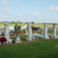 White Castle Cemetery - White Castle, LA, Карвилл