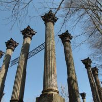 Ruins of Windsor, Port Gibson, Mississippi, Клейтон